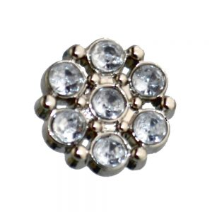 rhinestone cluster buttons