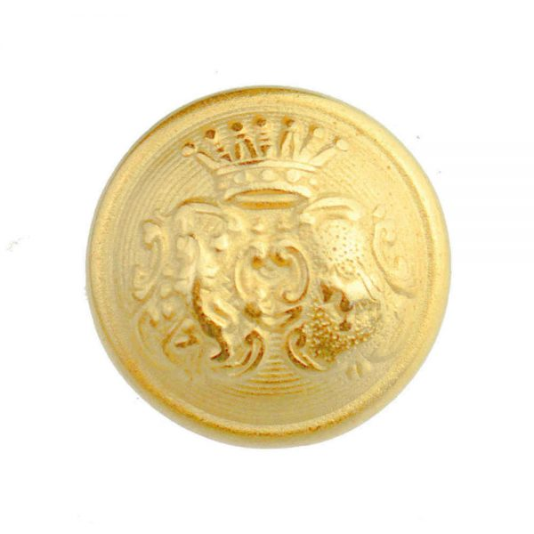 domed coat of arms buttons