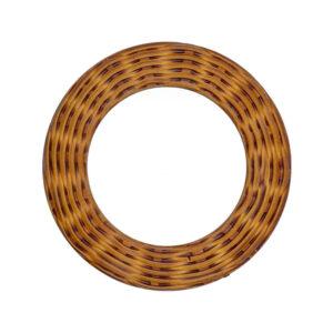 Woven Wicker O-Ring Slider