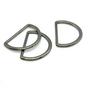 D Rings gunmetal