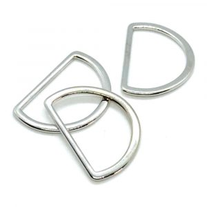 D Rings silver