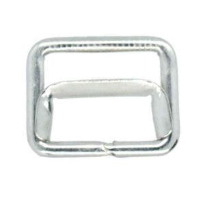 Silver waistcoat slider