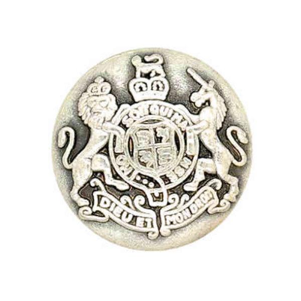 Royal crest Button
