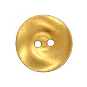 Gold saucer shaped buttons