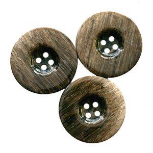 Wood grain coat buttons