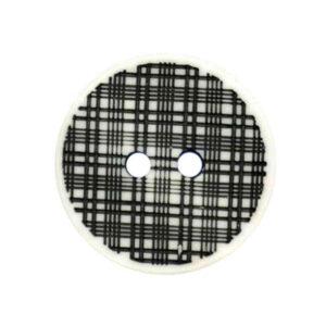 Mono tartan buttons