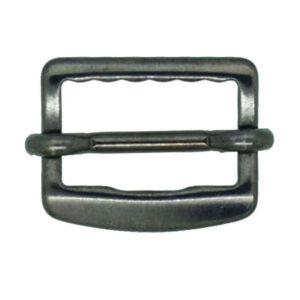 Gunmetal waistcoat buckle