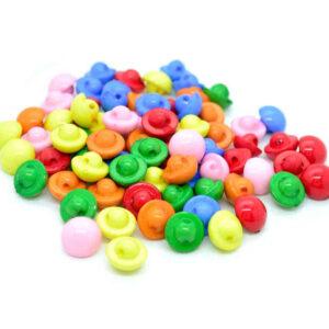 half ball buttons