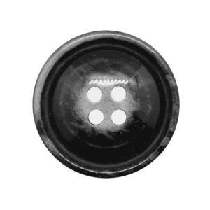 Domed rim coat buttons