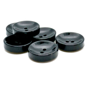 Deep concave buttons