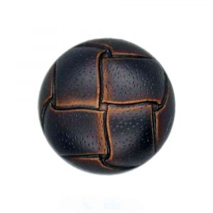 Brown football buttons