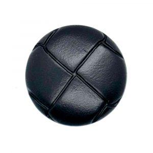 Black football buttons